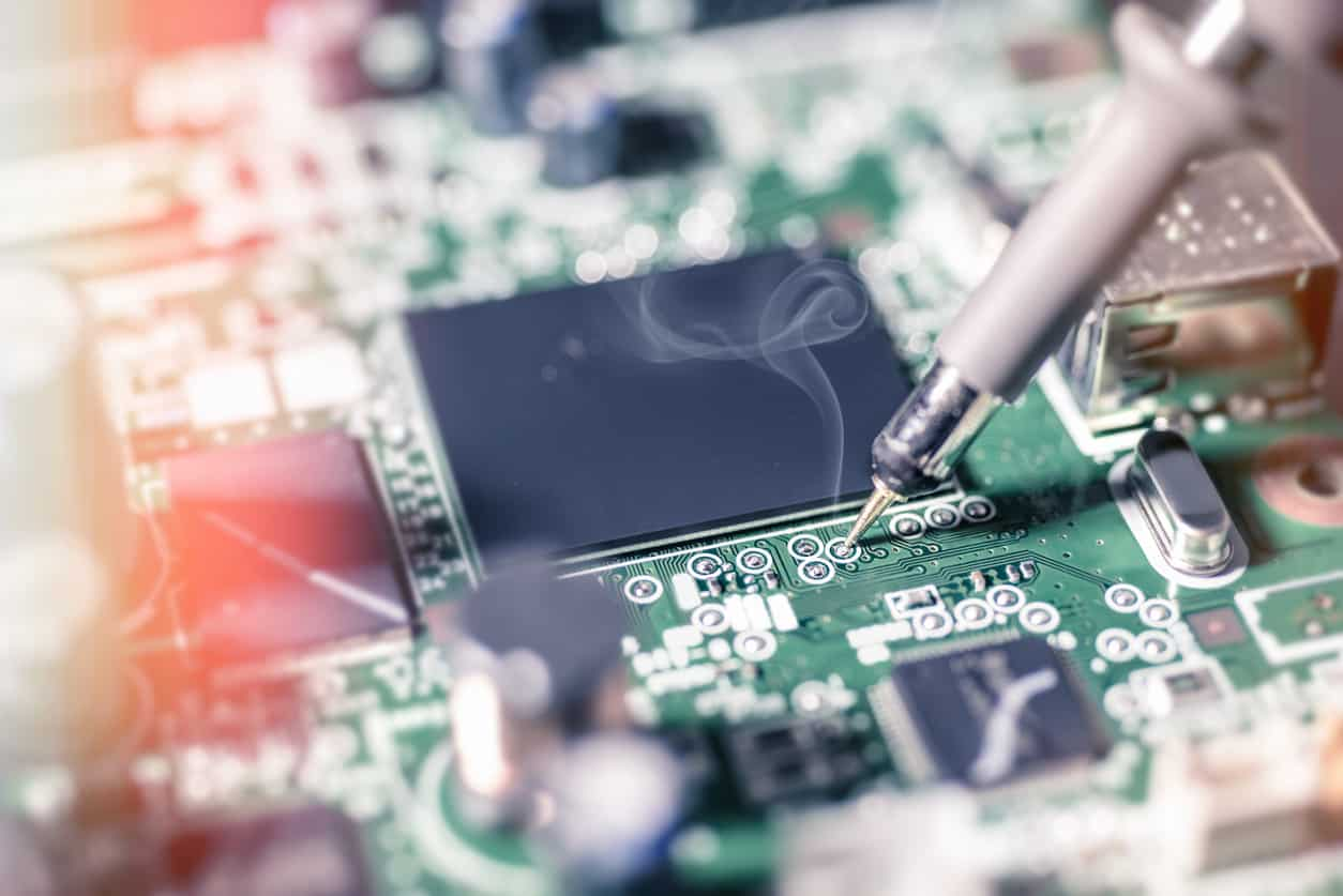 Audio Device Manufacturer Amps Up Production by 100% Image