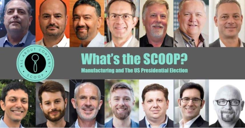 What's the Scoop? Manufacturing and the US Presidential Election Image